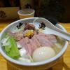 Chiyuukasobamanchiiken - 料理写真:特製鴨中華そば・塩、麺大盛