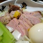 中華そば 満鶏軒 - 特製鴨中華そば・塩、麺大盛