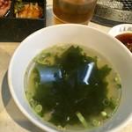 89152735 - 若布スープ