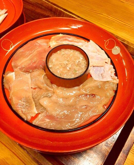 鳥料理 玉ひで - 軍鶏肉