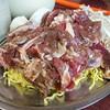 成吉 - 料理写真:マトンとロースの定食一人前ずつ盛合せ