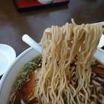 ホワイト餃子 はながさ - 中華そば 麺リフト