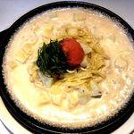 タラコとジャガイモのクリームソース