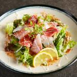 海鮮サラダ カルパッチョ風