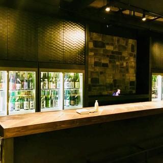 新宿駅近で落ち着いて日本酒をどうぞ!