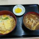 麺吉 どんどん - Bセット(500円)(°Д°)