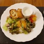 89156122 - 千円ビーフシチューランチの前菜