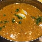 89158579 - チキンひき肉とゆで卵のカレー