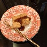 割烹 かじ - サービスのわらび餅