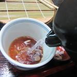 長寿庵 蕎匠 - 蕎麦湯は自然体
