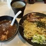 中華そば わたなべ - ゆず香るつけ麺(700円)