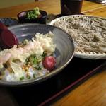 花子そば・うどん - 料理写真:えび天だしめしざるそば    760円