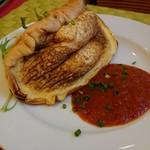 ダニーズレストラン - モンサンミッシェル風オムレツのハーフ