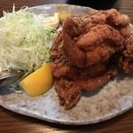 お食事処 石 - 海鮮と鳥唐1,080円の鳥唐