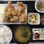 チキンハウス - からあげ定食(上)