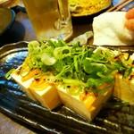 Hokkaido 和食七輪 ひやまる - もめん豆腐・炙りみそぬり