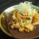 おり座 - 比内地鶏のぼんじりと鶏皮焼き