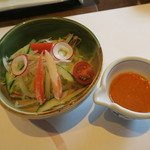 大志満 椿壽 - 30年7月 サラダ(天ぷらコース)