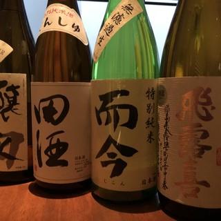 料理に合う日本酒や焼酎の数々