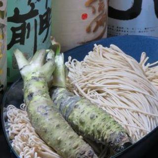 信州のお蕎麦をご堪能ください