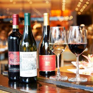 毎日15時~ボトルワイン半額♪赤も白もスパークリングも!