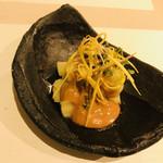 中國料理 克弥屋 - 冷製ナスの味噌ダレ和えしたヤツ このタレが超美味しい✨