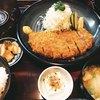 とんかつ翁 - 料理写真:上ロースカツ定食1,400円
