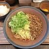 トモル - 料理写真:広島汁なし担担麺セット(麺 大盛)