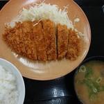 かつや - 『ロースかつ定食』(税込み745円)