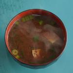 ひょうたん - 味噌汁@250