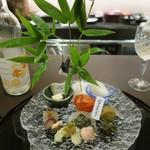 懐石料理 三木 - 料理写真:30年7月 七夕盛合せ
