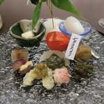 懐石料理 三木 - 30年7月 七夕盛合せ