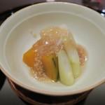 懐石料理 三木 - 30年7月 野菜炊き合わせ