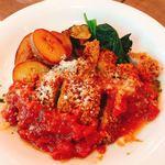 イタリアン食堂 ニーナの台所 - ミラノ風カツレツ焦がしバター風味  1280円