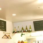 イタリアン食堂 ニーナの台所 - 黒板メニュー(不鮮明で恐縮です)