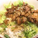 松壱家 - 肉飯 アップ