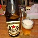 御天 - 瓶ビール 580円