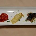ガフーリオ - 本日の前菜の盛り合わせ