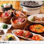 炭火韓国ダイニング 韓酒焼~kan chu ya~ - 炭火焼肉コース