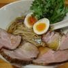 極汁美麺 umami - 料理写真:醤油ら~めん特製♪