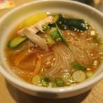 白雲台 - ミニ冷麺