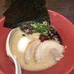 博多 一風堂 - 海苔玉子赤丸
