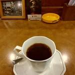 琥珀館 - サイフォンで入れたコーヒー
