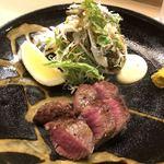 白鷹 - 広島牛のフィレ肉、炭火焼き