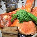 89183291 - 金目鯛(1/2)煮付 1,200円(税別)