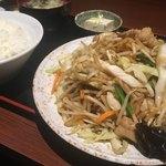 Chinese Dining ナンテンユー - 野菜炒め定食¥750