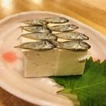 吉﨑食堂 - スクガラス豆富