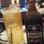 きん魚 - 達磨ホッピー白