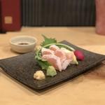 トリヒデ泉 - 赤鶏 ささみ霜降り