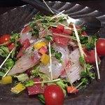 酒趣 - 魚介のカルパッチョ